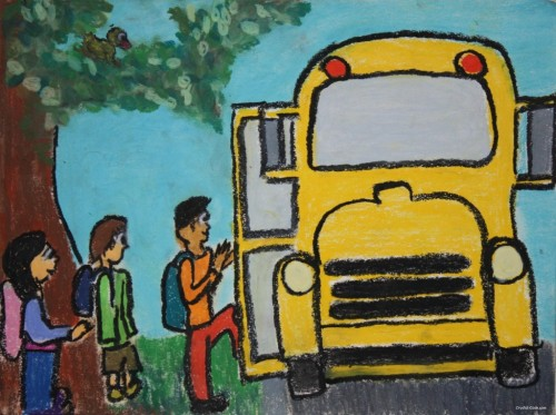 Going on the School Bus by Crystal Cook