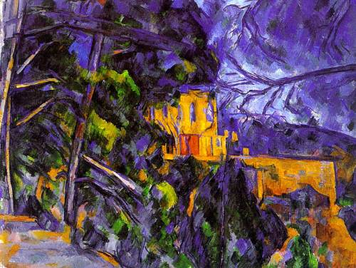 Le Chateau Noir by Paul Cezanne