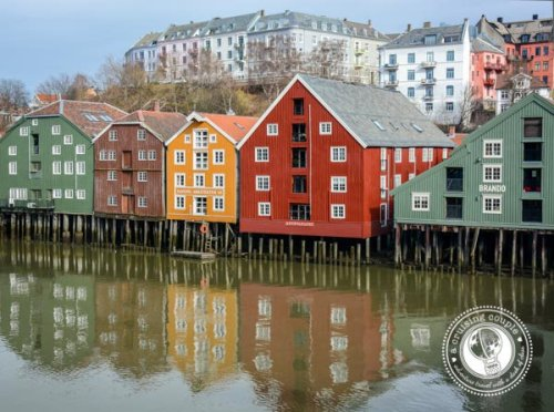 Houses to brighten the dark northern winters -