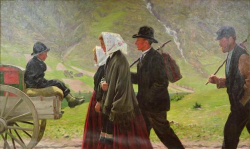 Emigrants by Gustav Wentzel