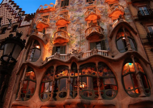 Phil and Mary once told us all about Gaudi architecture in Barcelona