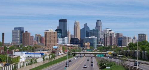 Skyline today - can you find the Foshay Tower?