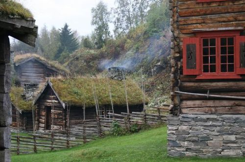 An old farm in Norway