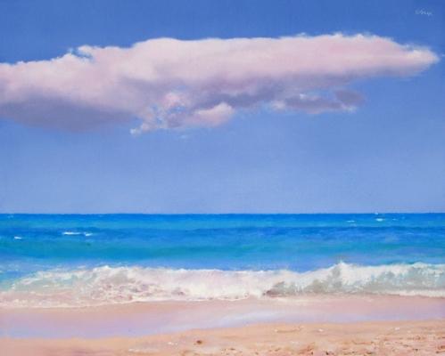 Pink Sand by Oriana Kacicek