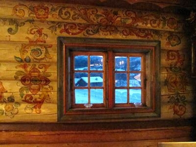 Aslak Painter decorated the Aas house when Elias was 6. Was it similar to this?