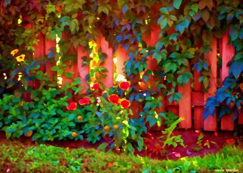 Build a joyful fence! by Quebec artist Carole Spandau
