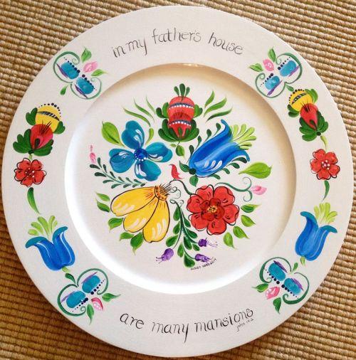 A plate of mine, modern Swedish, I call it ;)