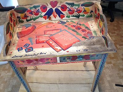 Peter-Hunt-Folk-Art-Painted-Desk-with-Chair-_1