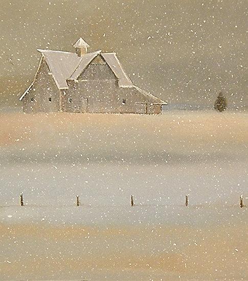 Barn Snow by Andrew Wyeth