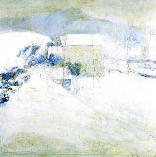 Winter by John Henry Twachtman