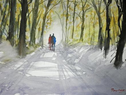 Winter Walk by Tony Cook