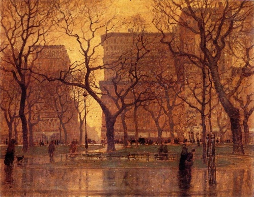After the Rain by Paul Cornoyer, 1901