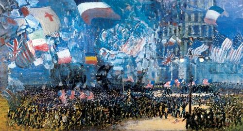 Armistice Night by George Luks