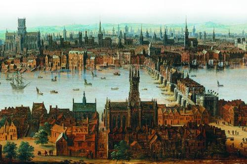 London before the great fire of 1666