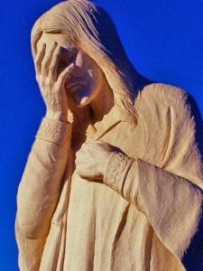 Jesus Wept, designed by David Meyer for adjunct Oklahoma City Memorial