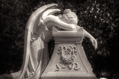 Angel of Grief, William Wetmore, 1894, Stanford University