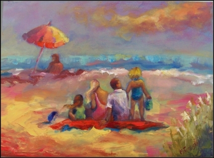 Family Vacation by Maryanne Jacobsen