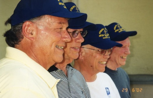 The Original Four, Mel, Ken, Vern, Bob (Ken and Bob are now in glory)