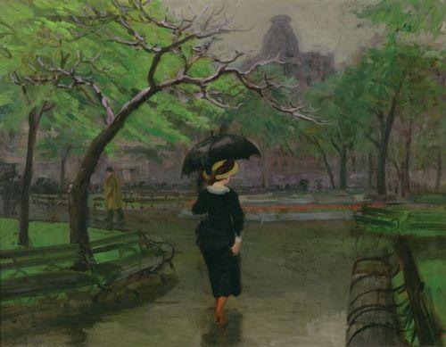 Spring Rain by John Sloan